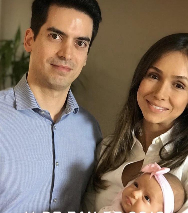 Laura Amorim, mother of 3 months Stella