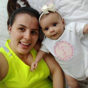 Viviane Beling, mom of 8 month-old Ester