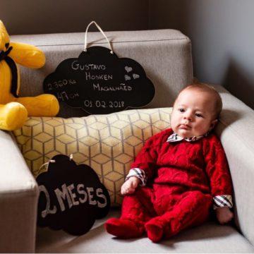 Renata Hosken, mom of 2-month old Gustavo